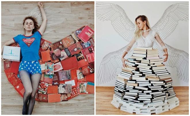 """Ngắm bộ ảnh ảo diệu của cô nàng mọt sách 23 tuổi gây """"bão"""" Instagram"""