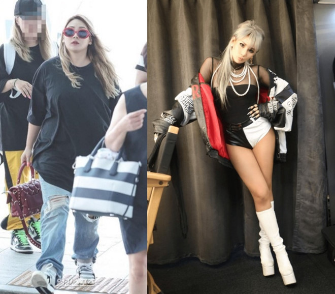 """Sự thật đăng sau bức ảnh """"siêu mỏng"""" của CL chỉ sau 2 tháng """"upsize XL"""""""
