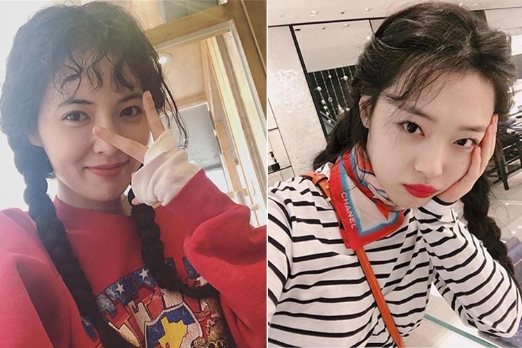 """""""Gái hư"""" Kpop Hyuna, Sulli tạo xu hướng: Cứ chuyện tình cảm trắc trở lại làm điều này?"""