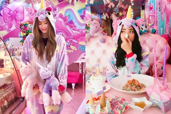 """Lịm tim giữa tiệm cà phê Unicorn dành riêng cho team bánh bèo """"mơ mộng"""" trong thế giới kỳ diệu"""