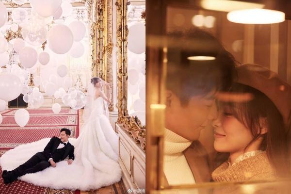Tung bộ ảnh cưới đẹp như mơ sát giờ G, La Tấn - Đường Yên chính thức nên duyên vợ chồng