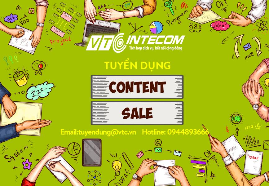 [HOT] Đợt tuyển dụng thực tập sinh, nhân viên account, nhân viên kinh doanh lương cao, được chờ đợi nhất tại VTC Intecom