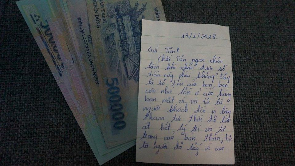 """Kẻ trộm trả lại số tiền cho khổ chủ sau 3 năm lấy cắp, còn viết thư xin lỗi và chúc """"hạnh phúc - an lành"""""""