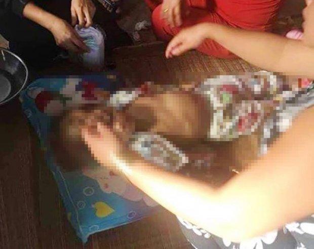 Công an điều tra cái chết bất thường của bé gái 4 tuổi được đem gửi ở nhà bạn của cha