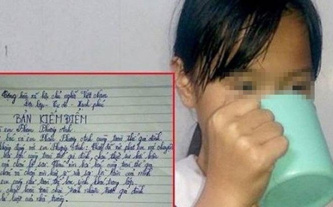 Cô giáo bắt học sinh súc miệng bằng nước giẻ lau bảng là con của lãnh đạo phòng giáo dục huyện