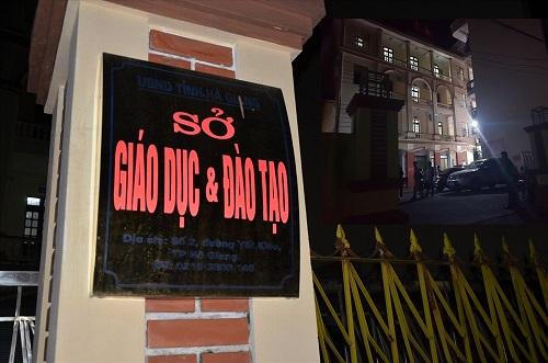 Công an tỉnh Hà Giang ra quyết định khởi tố hình sự vụ gian lận điểm thi ở Hà Giang
