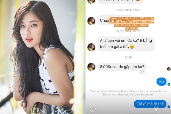 """Bị đại gia gạ tình đi khách giá 8.000 USD, Hoàng Yến Chibi mỉa mai: """"Giá gì mà rẻ thế"""""""