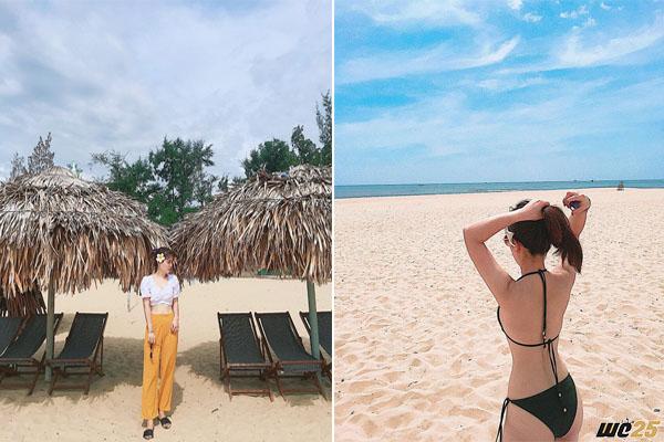 """""""Mách nước"""" bãi biển lọt Top 10 biển đẹp nhất Việt Nam cho bạn """"thả dáng"""" cháy máy hè này"""