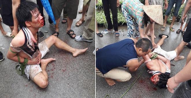 Người đàn ông bị cả xóm gô cổ vì lẻn vào nhà dân bế bé gái đưa lên ô tô
