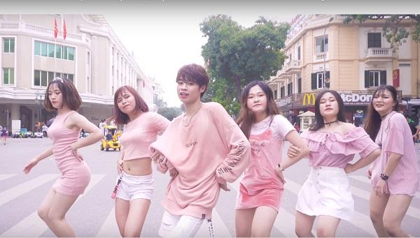 """Cover điệu nhảy hot trong hit """"What is love"""" của TWICE, nhóm bạn trẻ Việt được fan quốc tế khen nức nở"""