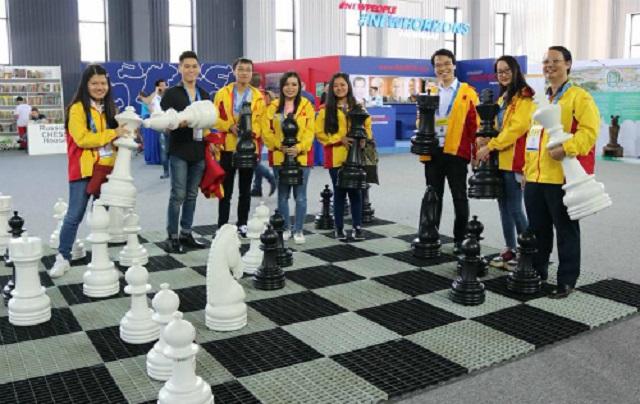 Việt Nam lọt Top 10 Olympiad cờ vua 2018, tự san bằng kỷ lục 6 năm trước
