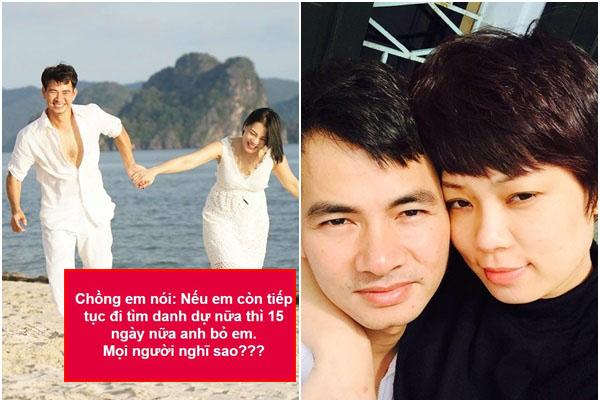 Nóng: Xuân Bắc dọa 15 ngày nữa sẽ bỏ vợ nếu Hồng Nhung tiếp tục đi tìm công lý?