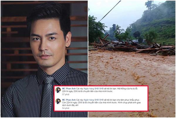 """MC Phan Anh bị """"bóc phốt"""" lừa đảo sao kê, ăn chặn tiền từ thiện mưa lũ Hà Giang, nhưng sự thật là gì?"""