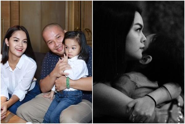 """Sau tin đồn ly hôn, Phạm Quỳnh Anh ôm con, trải lòng đầy ẩn ý về """"đêm mưa lạnh buồn""""?"""