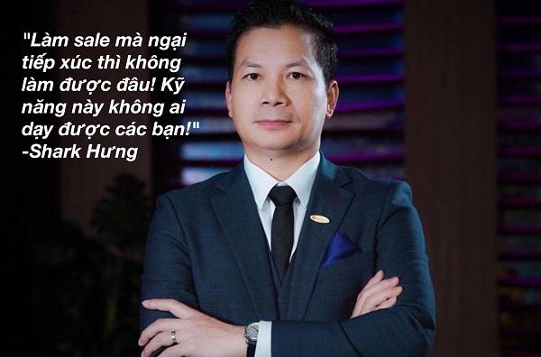 Shark Phạm Thanh Hưng chia sẻ kinh nghiệm làm sale và marketing hay ho thế này