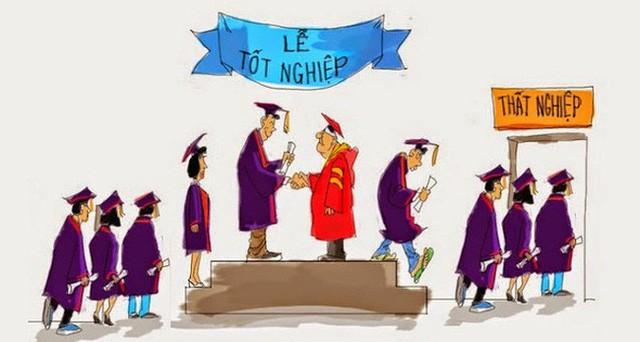 """Tưởng """"vượt vũ môn"""" vào đại học đã là tột cùng khó, nhưng combo """"nghèo - thất nghiệp - thất tình"""" thời kì """"hậu đại học"""" mới thật đáng sợ"""