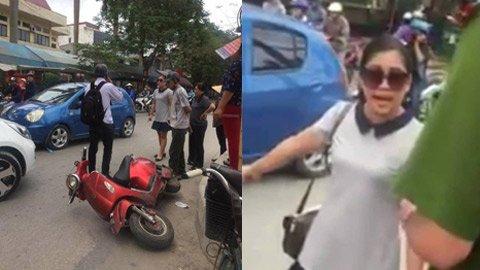 """Sau va chạm giao thông, nữ tài xế đất Cảng hùng hồn tuyên bố """"mạng người không quan trọng"""""""