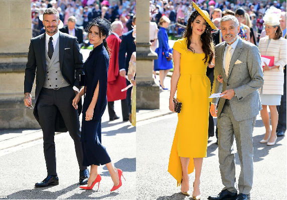 Trừ vợ chồng Beck - Vic ra, khách mời dự đám cưới hoàng gia toàn diện đồ màu mè đến khó tin