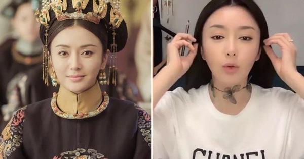 """Hóa ra """"Phú Sát Hoàng Hậu"""" Tần Lam U40 vẫn trẻ như """"gái 18"""" là nhờ bí quyết đắp mặt nạ có 1-0-2 này"""