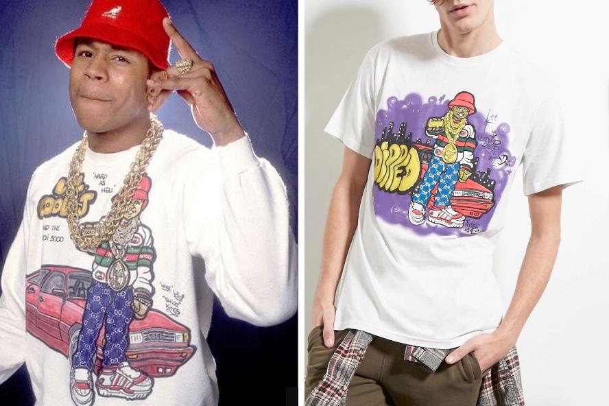 Thêm một hãng thời trang bình dân nữa bị tố ăn cắp thiết kế của Supreme và Stussy