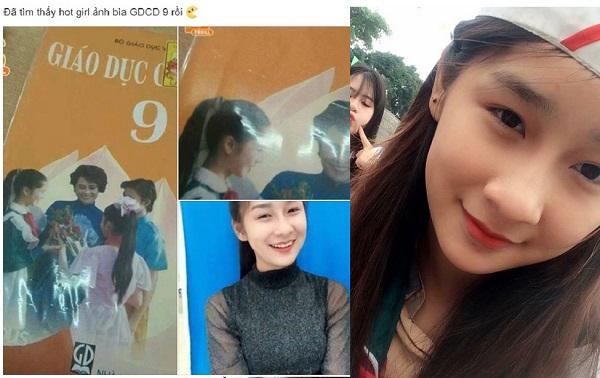 """2k Lào Cai xinh đẹp khốn đốn vì bị nhầm là """"hot girl ảnh bìa"""" sách GDCD 9"""