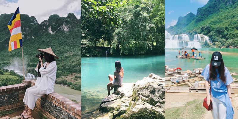 """""""Sống ảo"""" triệu like ở Công viên Địa chất Non nước Cao Bằng mới được UNESCO công nhận"""
