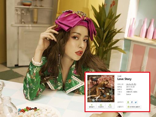 """Chi Pu hát tiếng Hàn Quốc giọng """"lơ lớ"""", tấn công thị trường Kpop, bất ngờ lọt top 10 tìm kiếm"""
