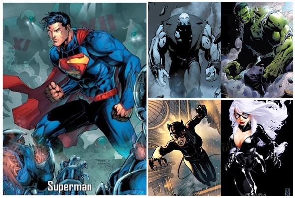 """Không ngờ, các siêu anh hùng và ác nhân nhà Marvel và DC đều có """"anh chị em sinh đôi"""" giống nhau thế này"""