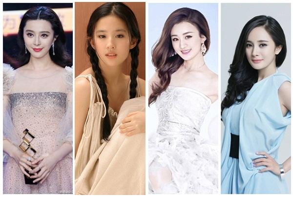 Đọ khối tài sản kếch xù của 4 mỹ nhân xinh đẹp bậc nhất làng giải trí Hoa ngữ