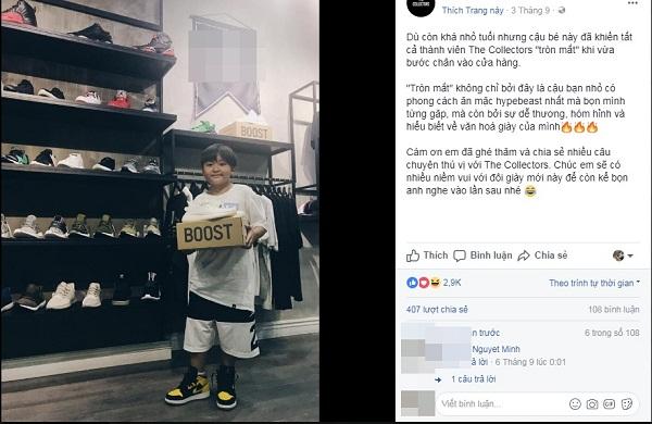 """Bộ sưu tập giày cực khủng của cậu bé 12 tuổi """"con nhà người ta"""" gây choáng"""