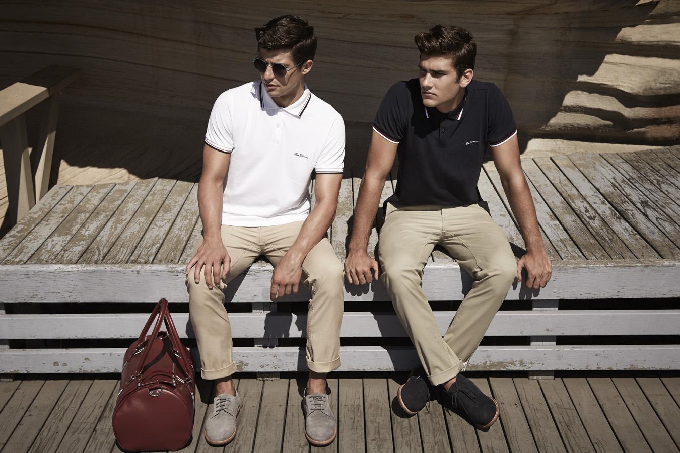 5 cách phối đồ nam cá tính với áo thun polo trong hè này