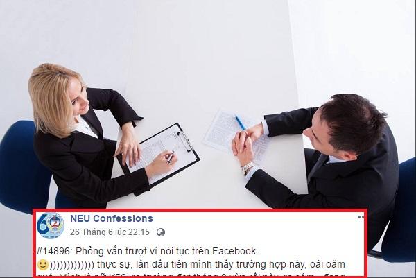 Tốt nghiệp bằng giỏi, có đầy đủ chứng chỉ, cô gái vẫn trượt phỏng vấn vì hay comment dạo nói tục trên facebook