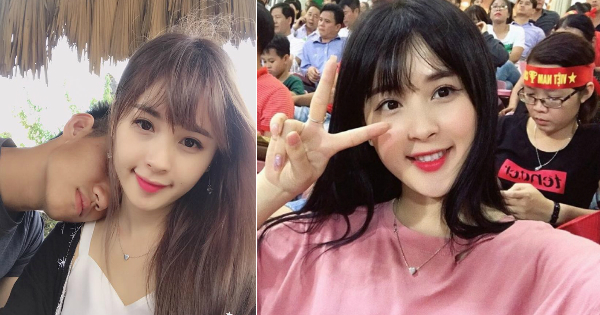 Bất ngờ trước nhan sắc xinh đẹp tựa nữ thần của bạn gái đội trưởng U20 Việt Nam - Nguyễn Trọng Đại