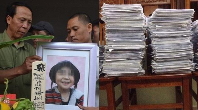 300.000 chữ ký đòi công bằng cho bé Nhật Linh, chậm nhất 2 tháng nữa kẻ sát nhân ra tòa