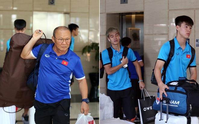 Bất chấp mệt mỏi sau trận thắng Syria, U23 Việt Nam trả phòng khách sạn để đổi địa điểm thi đấu