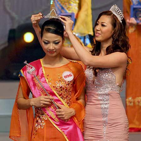 Trần Thị Quỳnh sinh năm 1986, đến từ Hải Phòng, đăng quang danh hiệu Hoa hậu Thể thao - Miss Sport năm 2007.