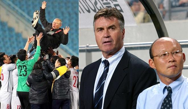 Lập kỳ tích chấn động châu Á cùng U23 Việt Nam, Park Hang Seo đã giỏi hơn Guus Hiddink?