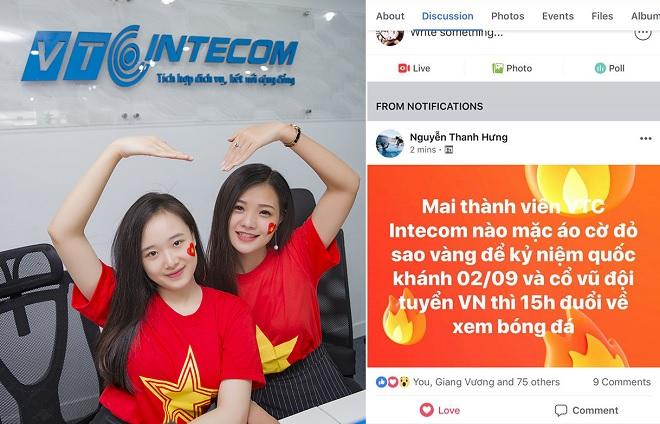 """Nhân viên VTC Intecom """"phát cuồng"""" vì bị sếp """"đuổi"""" về nhà xem U23 Việt Nam trong giờ làm việc"""