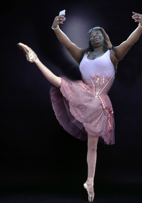 Điệu múa ballet kỹ thuật số.