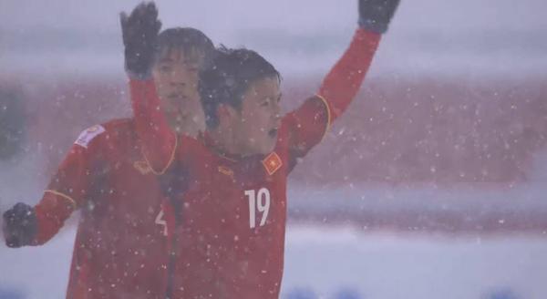 Những hình ảnh hiếm có trong lịch sử bóng đá của trận chung kết U23 châu Á