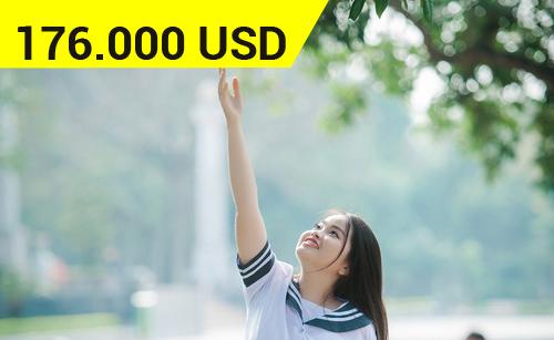Nữ sinh trường THPT Chuyên Lê Hồng đã dễ thương lại xuất sắc đạt học bổng 4 tỷ đồng du học Mỹ