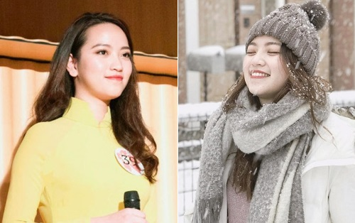 Rạng rỡ vẻ đẹp Hà thành của Á khôi 1 cuộc thi Hoa khôi du học sinh Việt tại Nhật Bản 2017