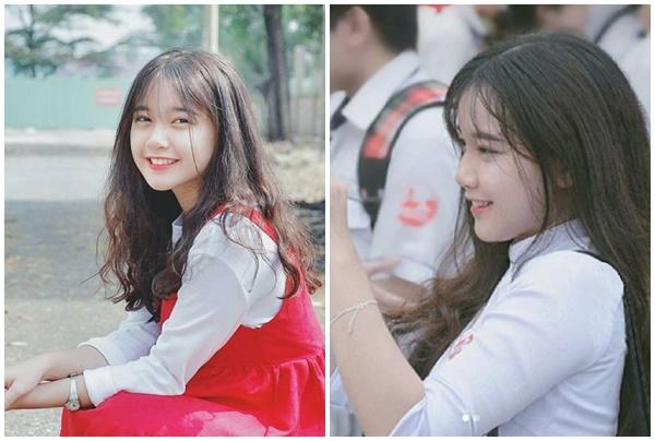Nữ sinh Đại học Tôn Đức Thắng mang nét đẹp dịu dàng xứ Huế và vẻ xinh tươi sức sống Sài Gòn