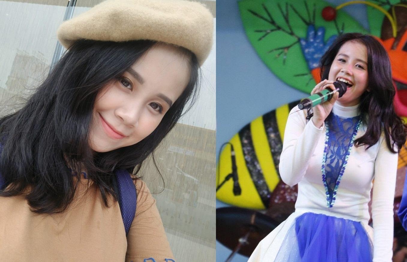 Nữ sinh lớp 11 sở hữu nụ cười xinh ngắm mãi không chán, vừa học giỏi vừa hát hay như ca sỹ