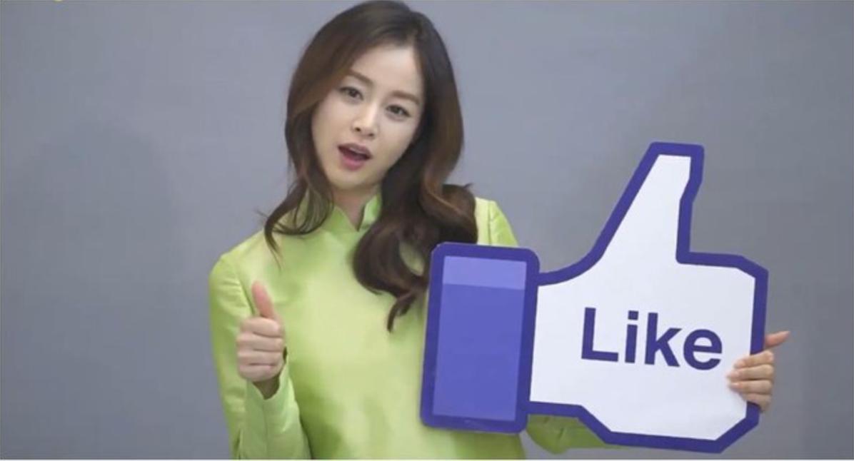 Kim Tae Hee ơi! mặc áo dài có nhất thiết phải đẹp như thế này không?