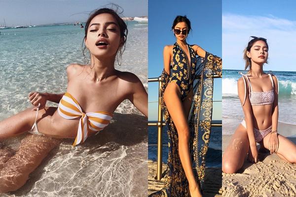Hotgirl môi tều Lily Maymac ngực lép, chân ngắn vẫn tự tin diện bikini nóng bỏng đến nghẹt thở