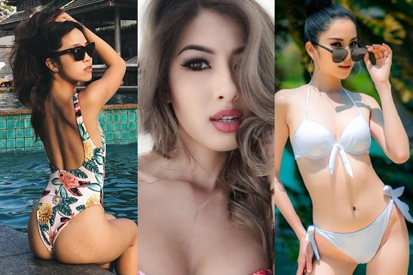"""""""Hội chị em"""" các Hoa hậu, siêu mẫu khi diện bikini cũng không phải dạng vừa đâu"""