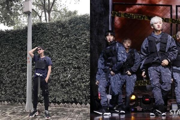 """Hết công nhân, giờ Sơn Tùng lại bị tố """"ăn theo """" BTS với style áo chống đạn"""