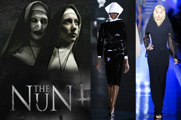 """Ma sơ """"The Nun"""" chính thức tấn công sàn catwalk khiến fan """"thét"""" lên vì...sung sướng"""