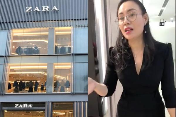 Đại diện Zara cuối cùng cũng lên tiếng về vụ việc nữ khách hàng bị buộc lục túi vì nghi ngờ lấy cắp đồ